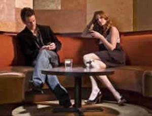 silencio en una cita