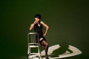 Baile sexy en una silla