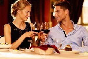 Menu cena romantica