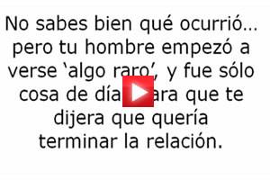 Video: cómo recuperar a un hombre